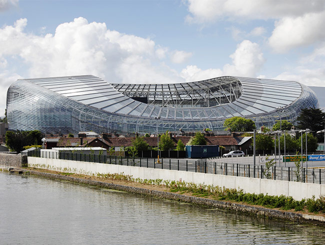 williaam cox-aviva-stadium-polycarbonate