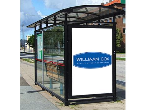 williaam cox-dibond-bus-shelter