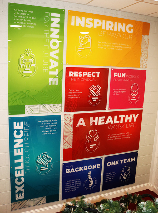 Stairwell Guiding Principles Posters