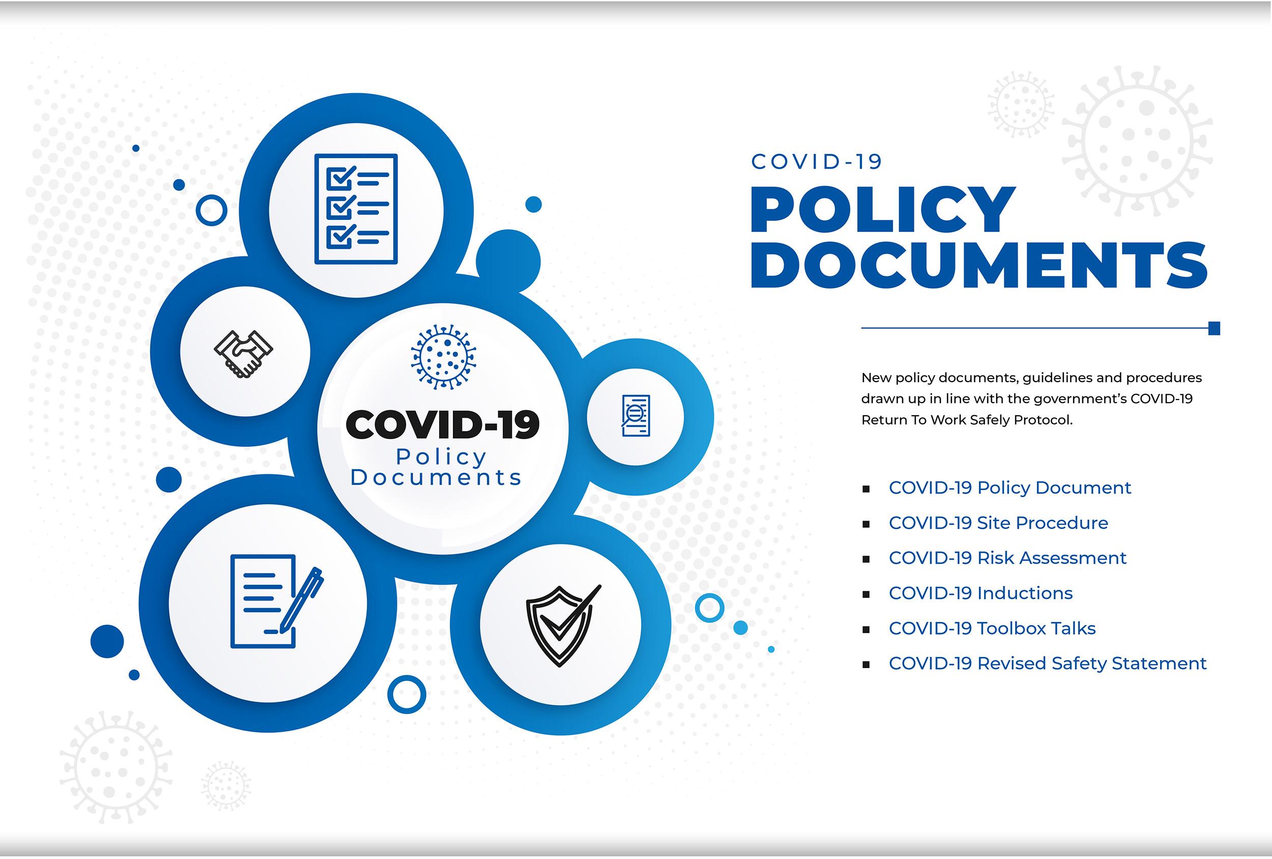 Williaam Cox covid-19 policy documents graphics