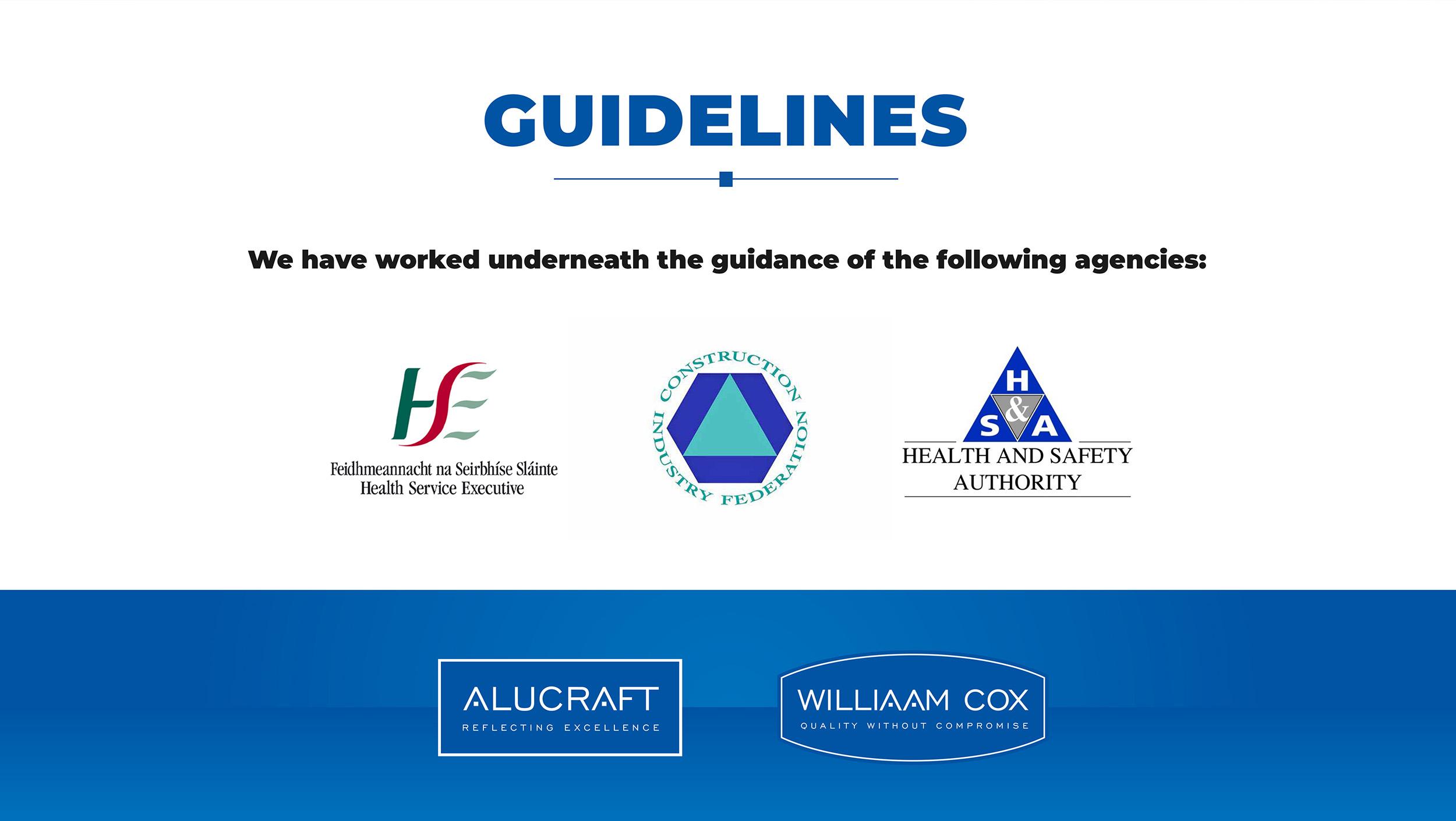 Regulatory body guidelines graphic