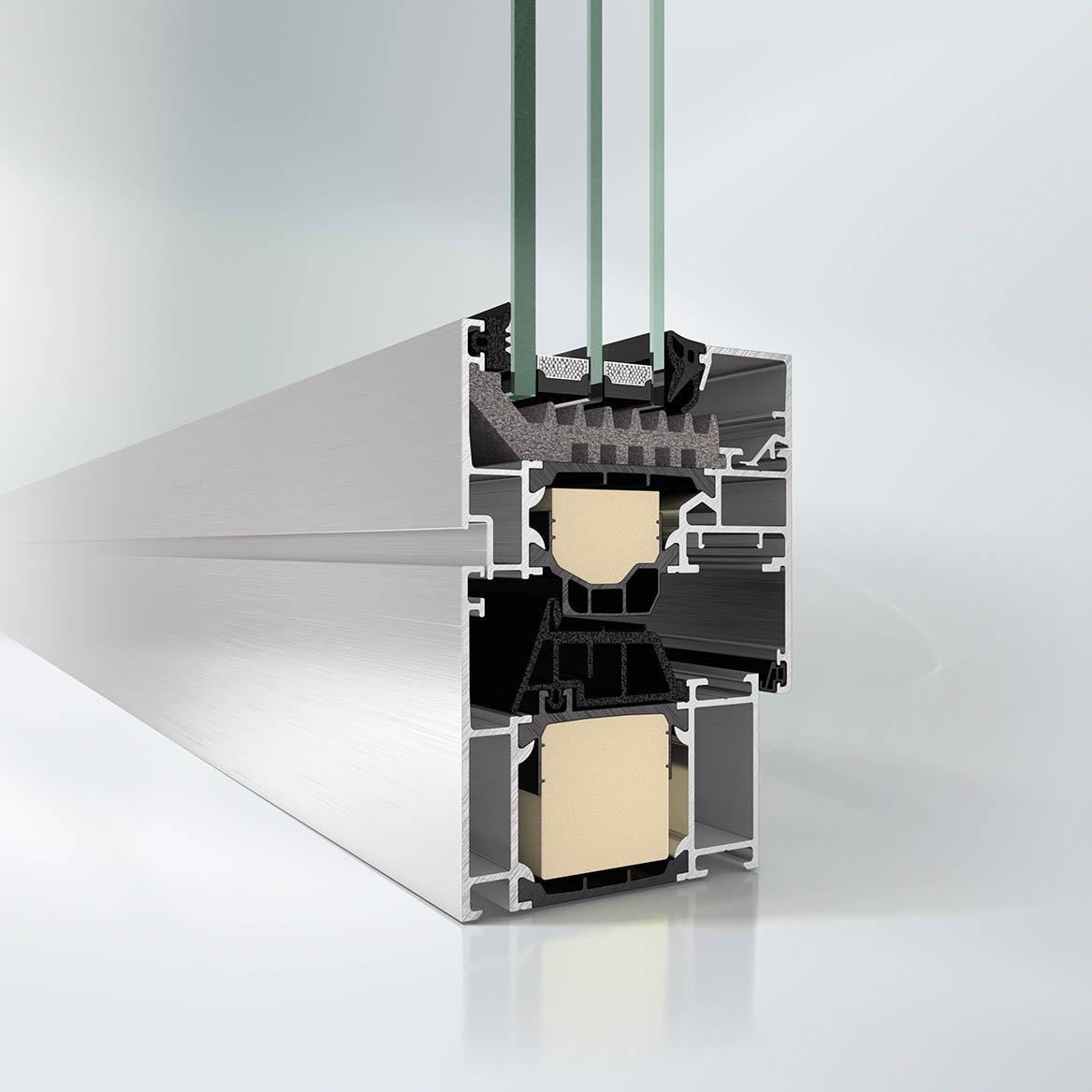 Schuco AWS 65 Window System