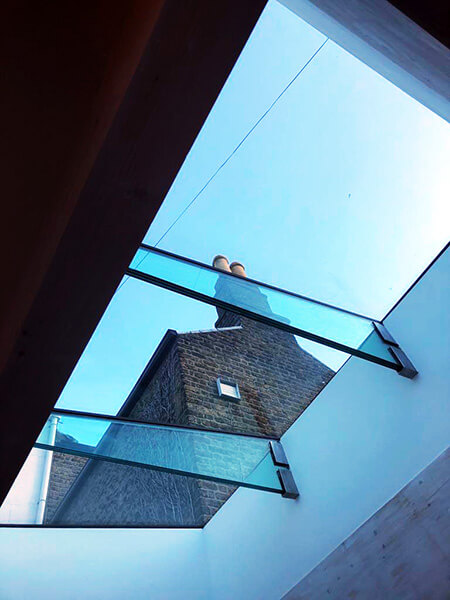 Rathmines House Flat glass Rooflight
