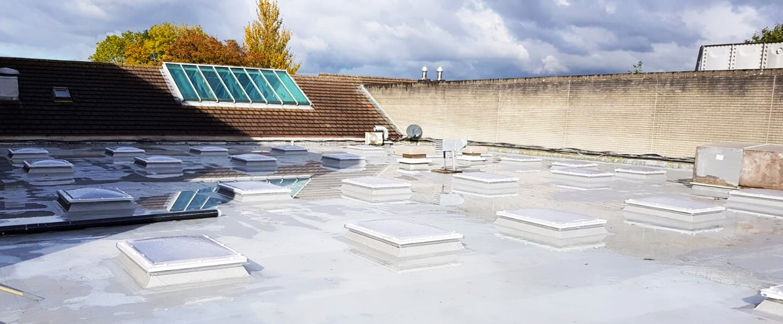 Stewarts Hospital Rooflights
