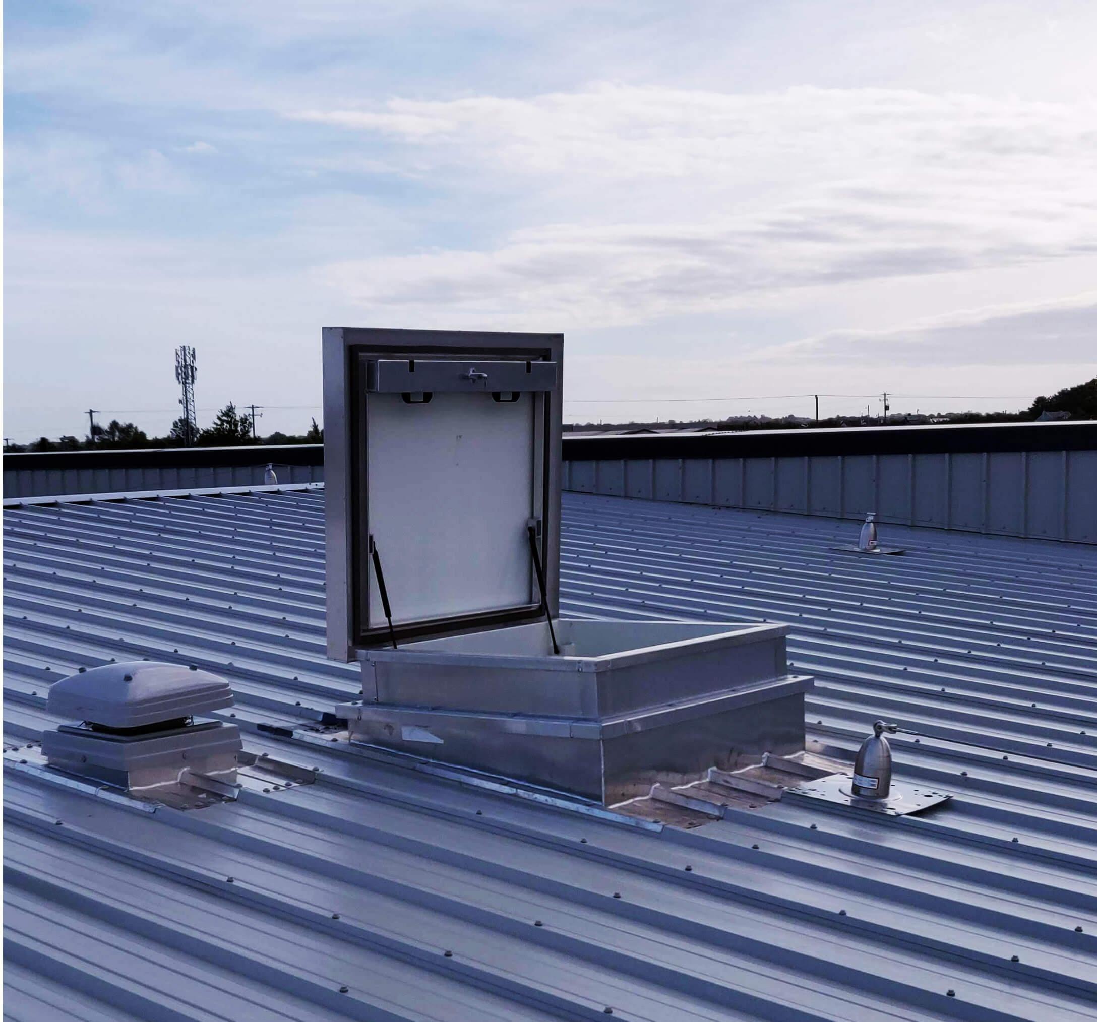 Western Post Form Smoke Ventilation